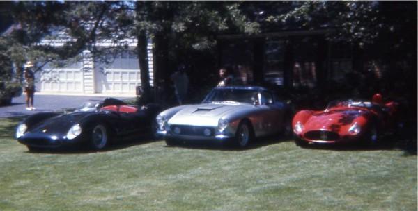 Jack Reuter And His Racing Ferrari Maserati Porsche Bandini