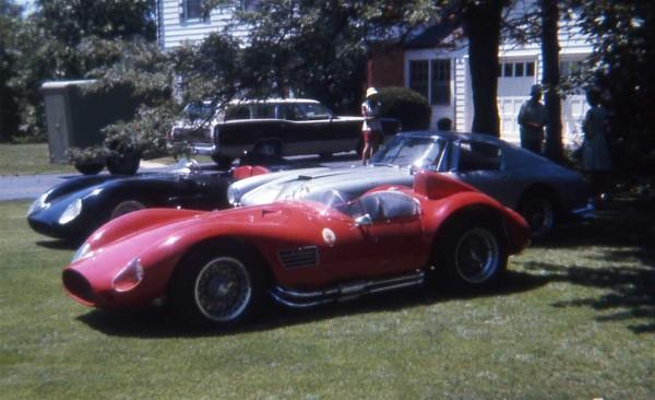 Racing In Car >> Jack Reuter And His Racing Ferrari Maserati Porsche Bandini Volpini Abarth Bugatti